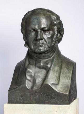Busto, Félix Burriel, 1927. Foto: José Garrido. Museo de Zaragoza.