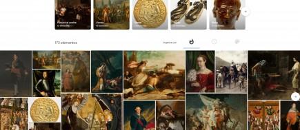 Sección de la Home de Google Arts and Culture. Foto: Difusión Museo de Zaragoza