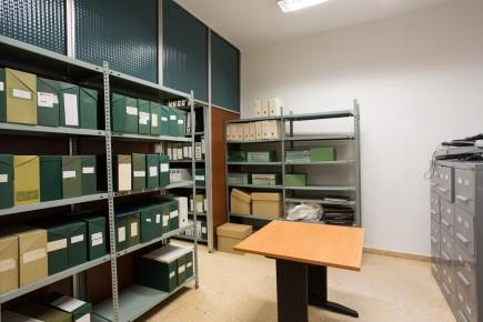 Archivo del museo en su nuevo espacio. Foto: José Garrido. Museo de Zaragoza.