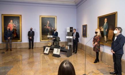 Presentación de la programación para el 275 aniversario del nacimiento de Goya. Foto: José Garrido. Museo de Zaragoza.