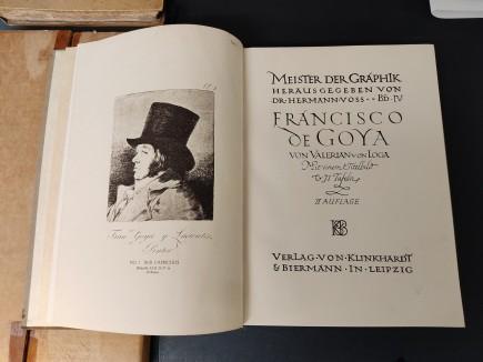 Francisco de Goya. Meister der graphik, Von Loga. Colección Enrique Gastón. Foto: Difusión Museo de Zaragoza.