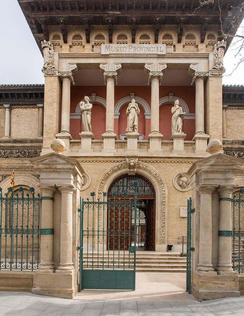 Acceso Museo de Zaragoza