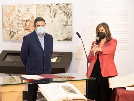 Presentación del depósito de estampas de Goya de Fundación CAI. Foto: José Garrido. Museo de Zaragoza.