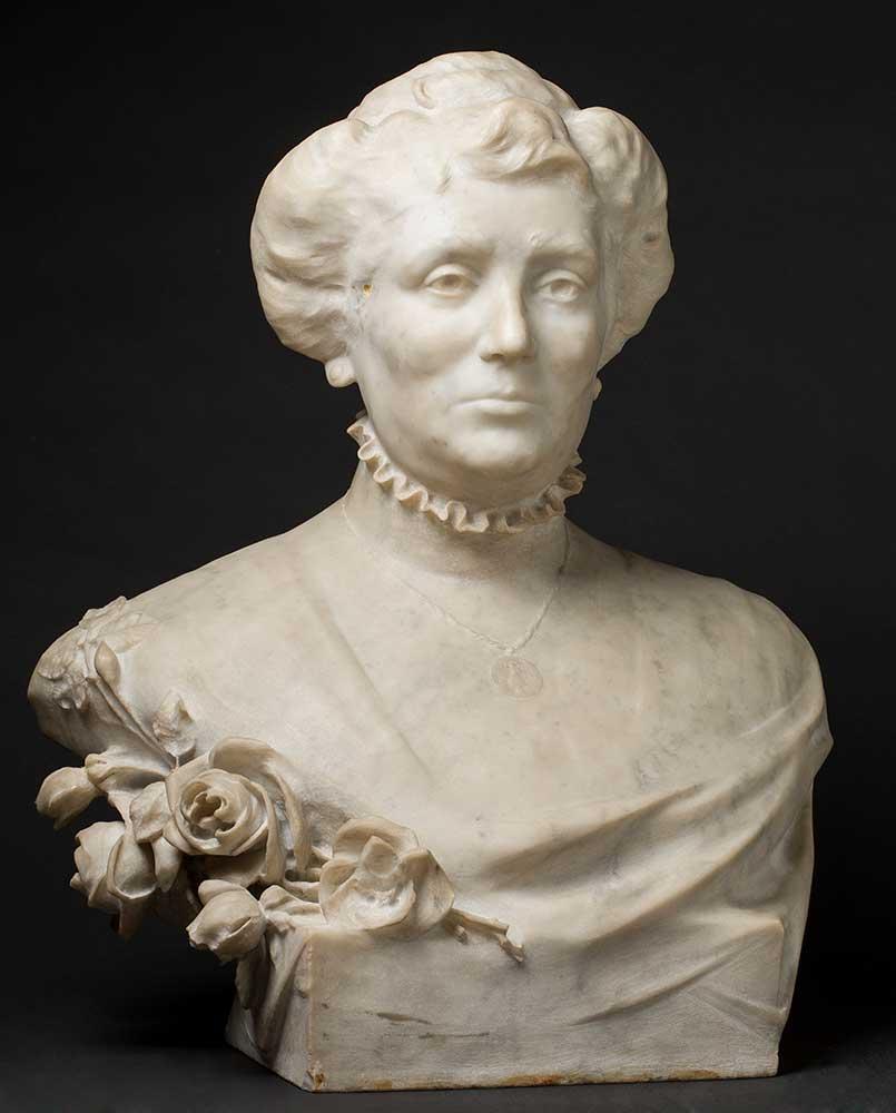 Doña María Dolores Gallifa Lombarde. José Bueno. Talla sobre mármol. 1909.