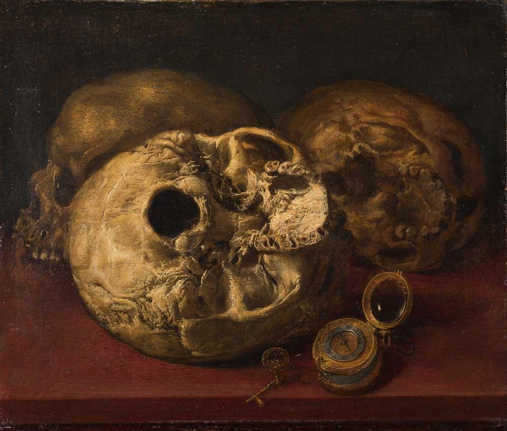 Vánitas. Antonio de Pereda. Óleo sobre lienzo. Barroco. Ca. 1660.