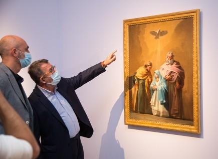 Presentación depósito nuevo Goya. Foto: José Garrido. Museo de Zaragoza.