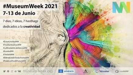 Cartel oficial MW en español. Foto: Museum Week
