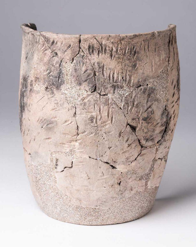 Cuenco. Cerámica. Edad del Bronce Medio. 1600[ac]. Balsa La Tamariz - Santa Engracia - Tauste. NIG-59796
