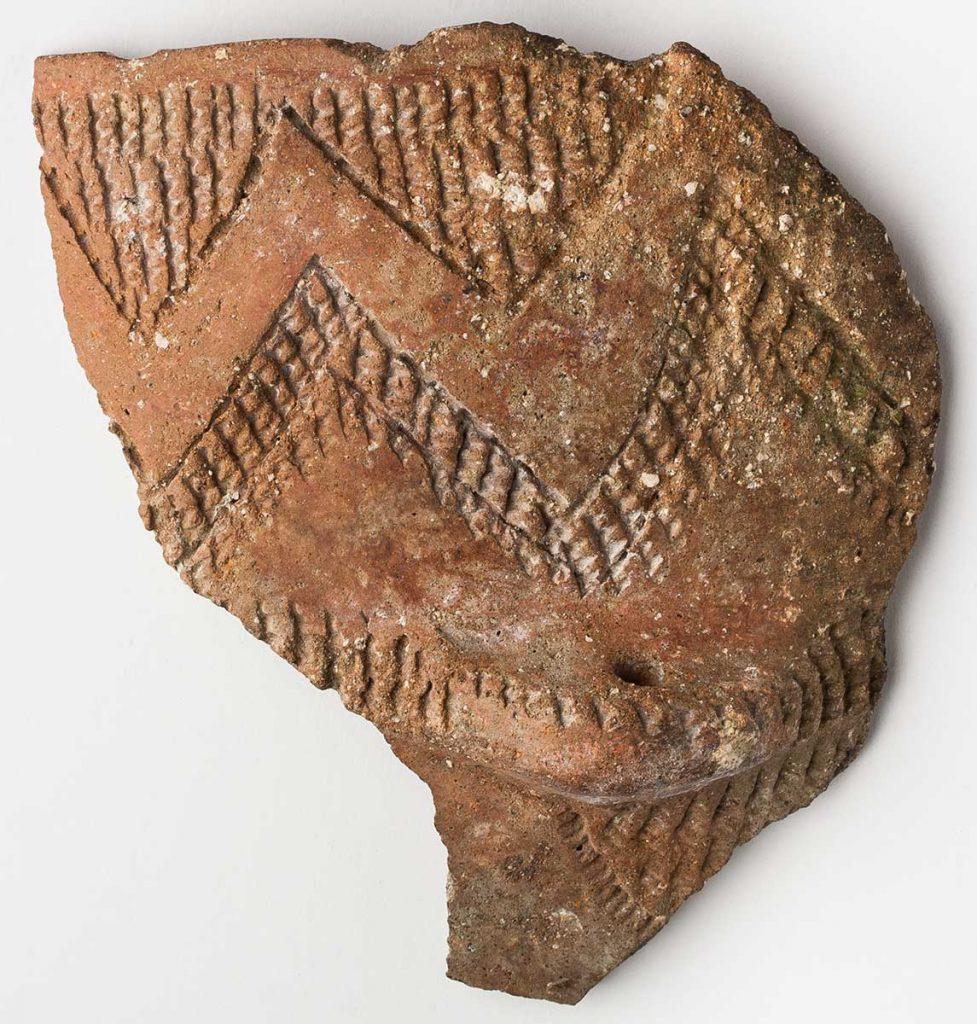 Vasija . Cerámica. Neolítico. 6300[BP]-6000[BP]. La Ambrolla - La Muela. NIG-48456