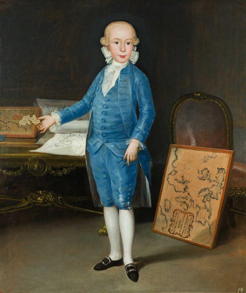 Don Luis María de Borbón y Vallabriga. Francisco de Goya y Lucientes. Óleo sobre lienzo. 1783.