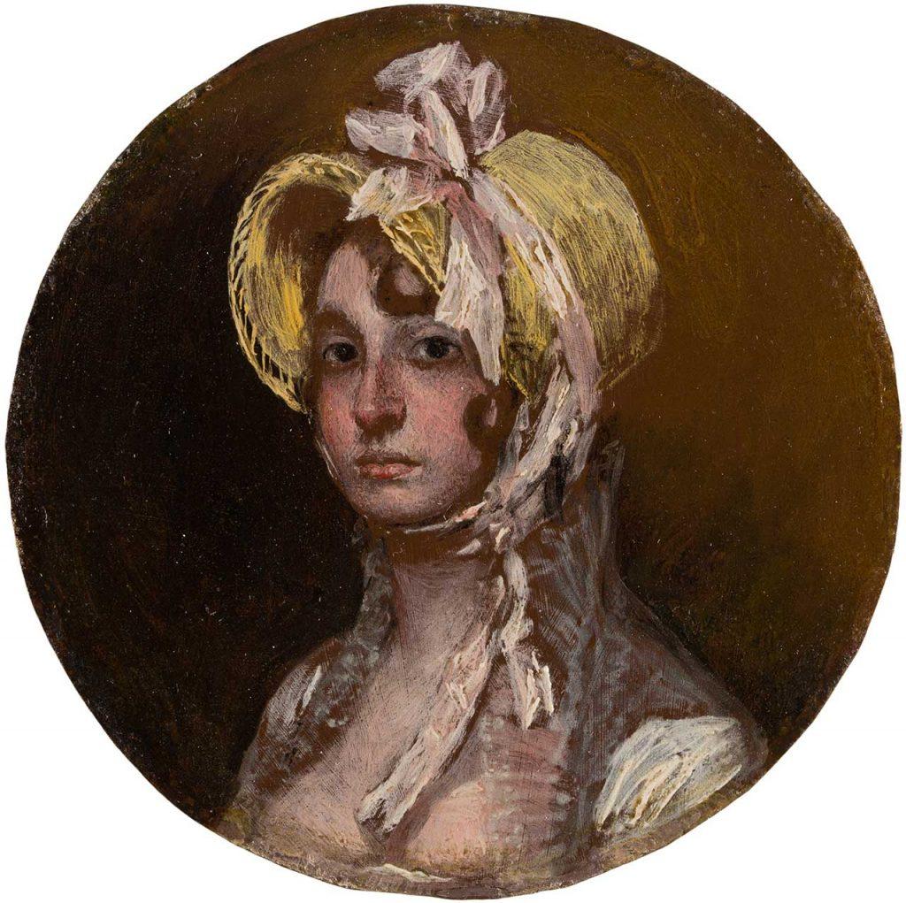 Gumersinda Goicoechea y Galarza. Francisco de Goya y Lucientes. Óleo sobre cobre. 1805.