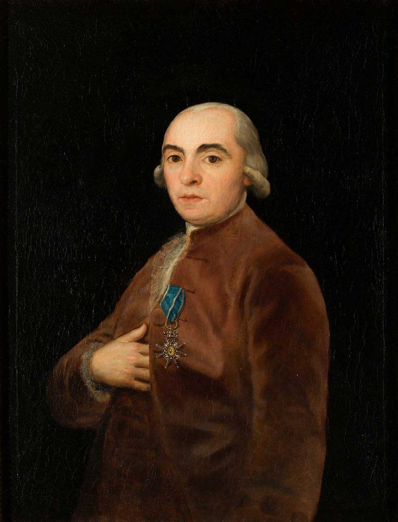Retrato de Juan Martín de Goicoechea. Francisco de Goya y Lucientes. Óleo sobre lienzo. 1790.
