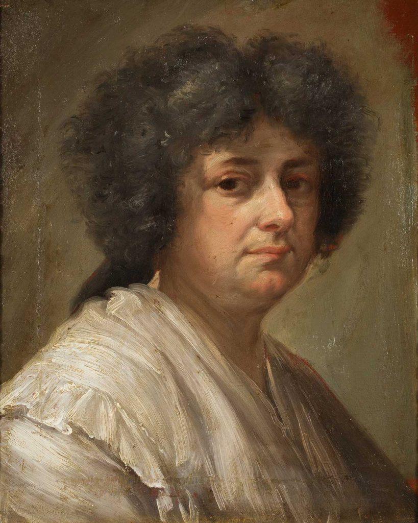 Retrato de Sebastiana Merclein. Francisco Bayeu y Subías. Óleo sobre lienzo. Hacia 1780-1785.