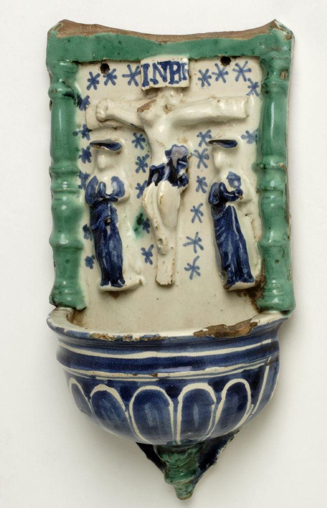 Pila benditera. Alfar de Muel (Zaragoza). Siglo XX. Inv. 01258.