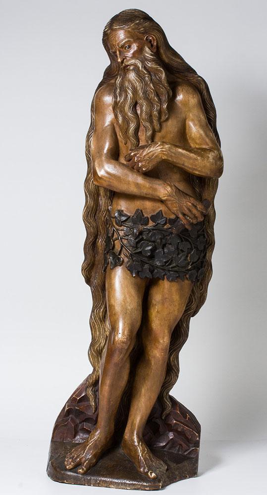 San Onofre. Damián Forment. Alabastro tallado. Renacimiento. 1520. Inv. 09189