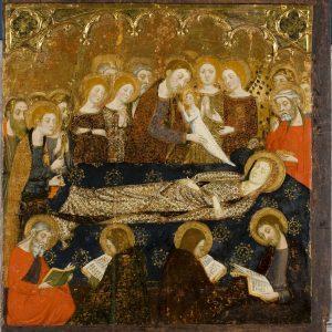 Dormición de María. Inv. 10008.