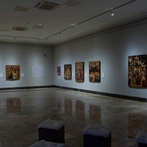 La resurrección de Jaime Serra. Inicio de la exposición.